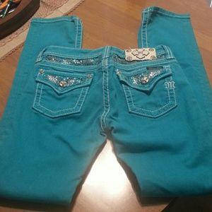 Miss Me Jeans Girls Sz 14